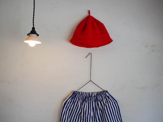 ポロネギパンツと帽子