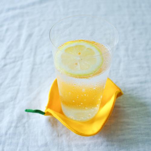 レモンのコースター